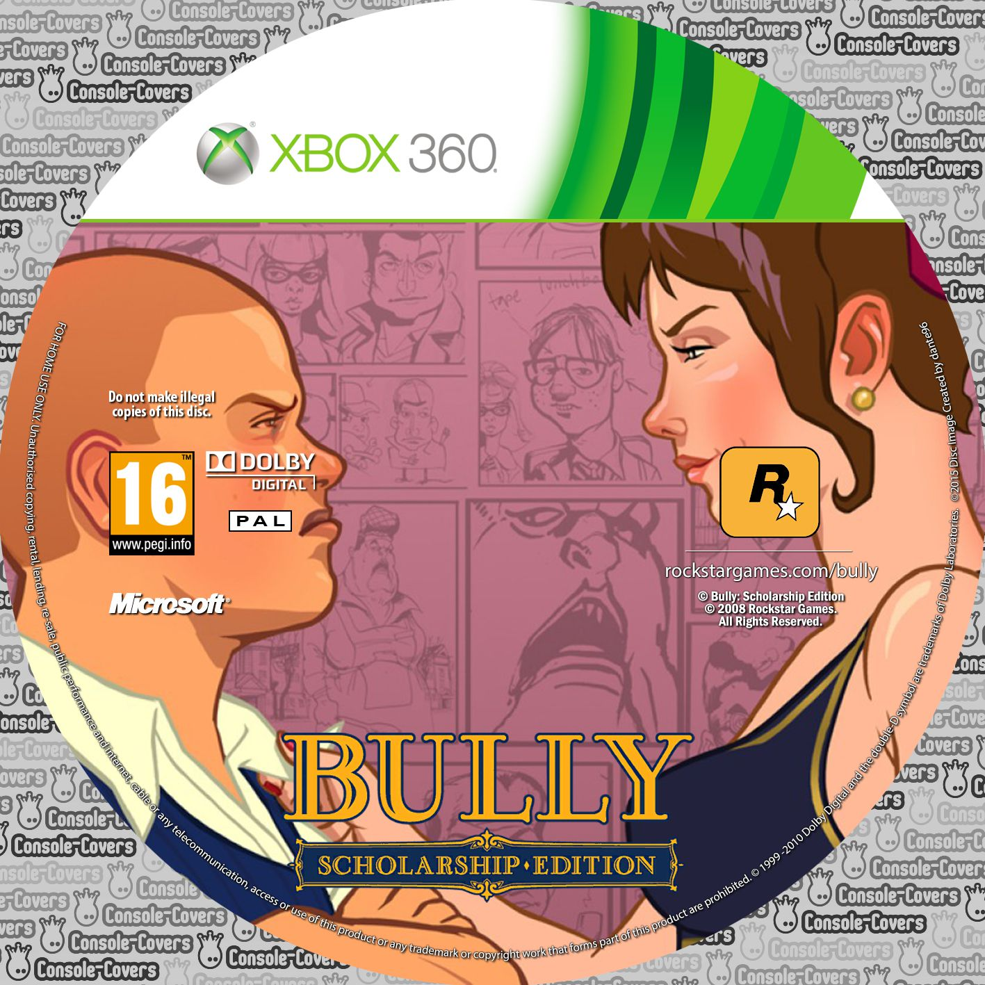 Label Bully Scholarship Edition Xbox 360