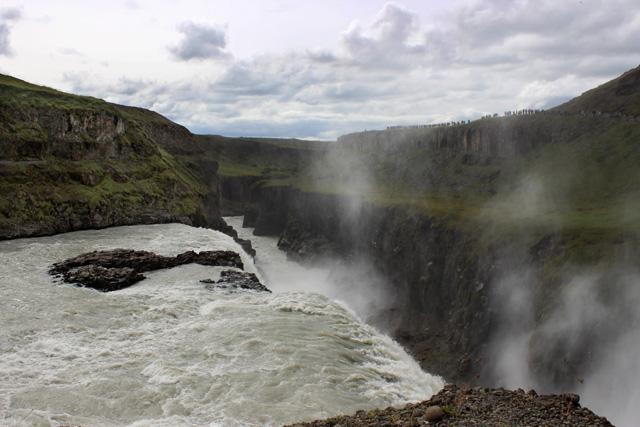 Gullfoss, maravilla del Círculo Dorado islandés