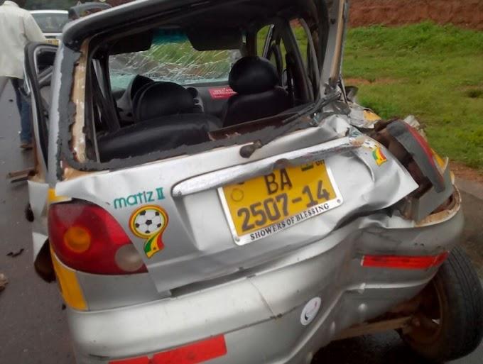 Asiedu Nketia escapes death in motor crash