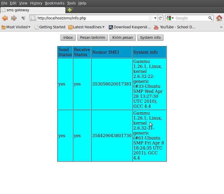 SMS Gateway di Ubuntu Menggunakan GAMMU (2) - LEaRn tO sHaRe