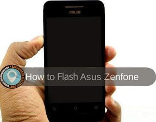 Cara Mudah Flashing Instal Firmware ROM Asus Zenfone 4 Tanpa PC