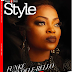 Nigerian Actress Funke Akindele Channels Inner Taraji P Henson For ThisDay Shoot!!!