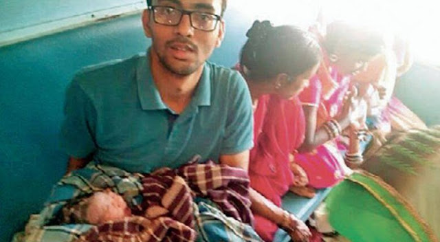 MBBS Student Helped Pregnant Woman Deliver A Baby On Moving Train