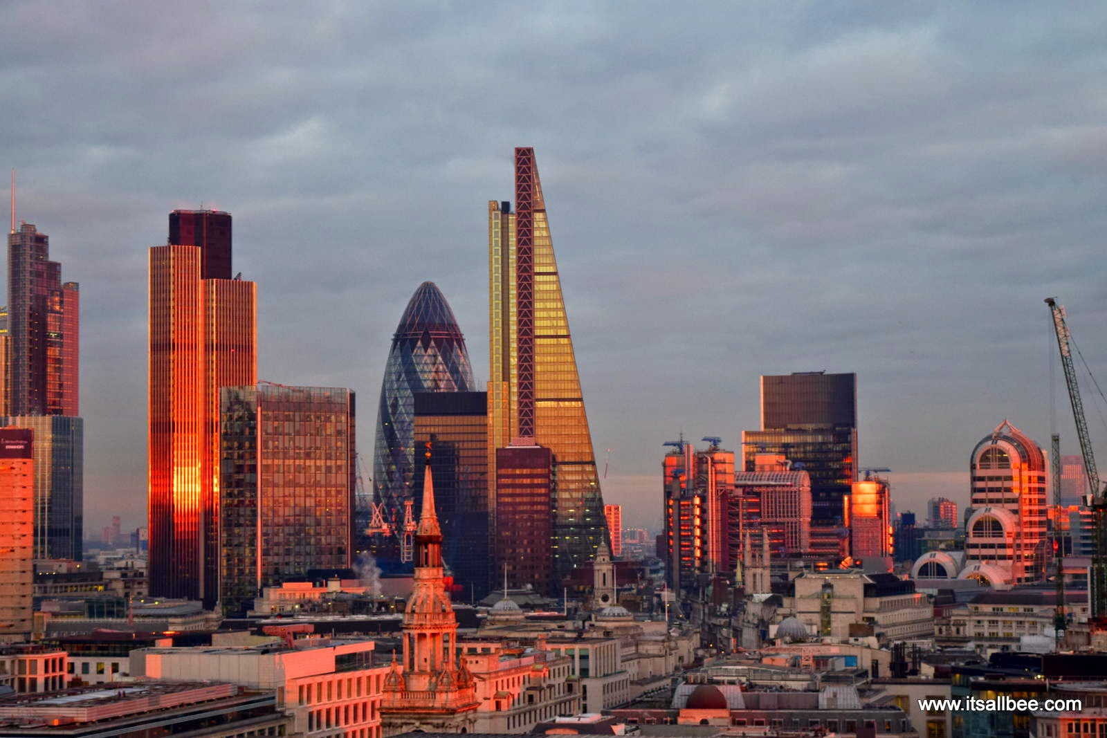 Sunset In London | 5 Top Places For The Best Sunset Views Of The London Skyline