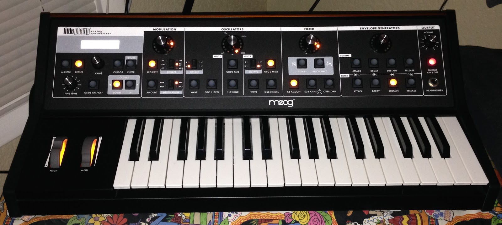 MOOG Little Phatty Stage Synthesizer Driver UPDATE