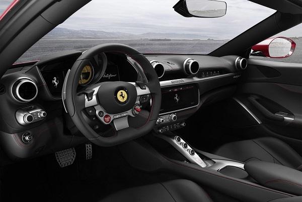 Interior Ferrari Portofino