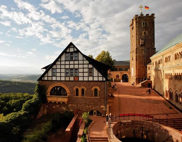 Wartburg Castle, Eisenach, Thuringia, Germany