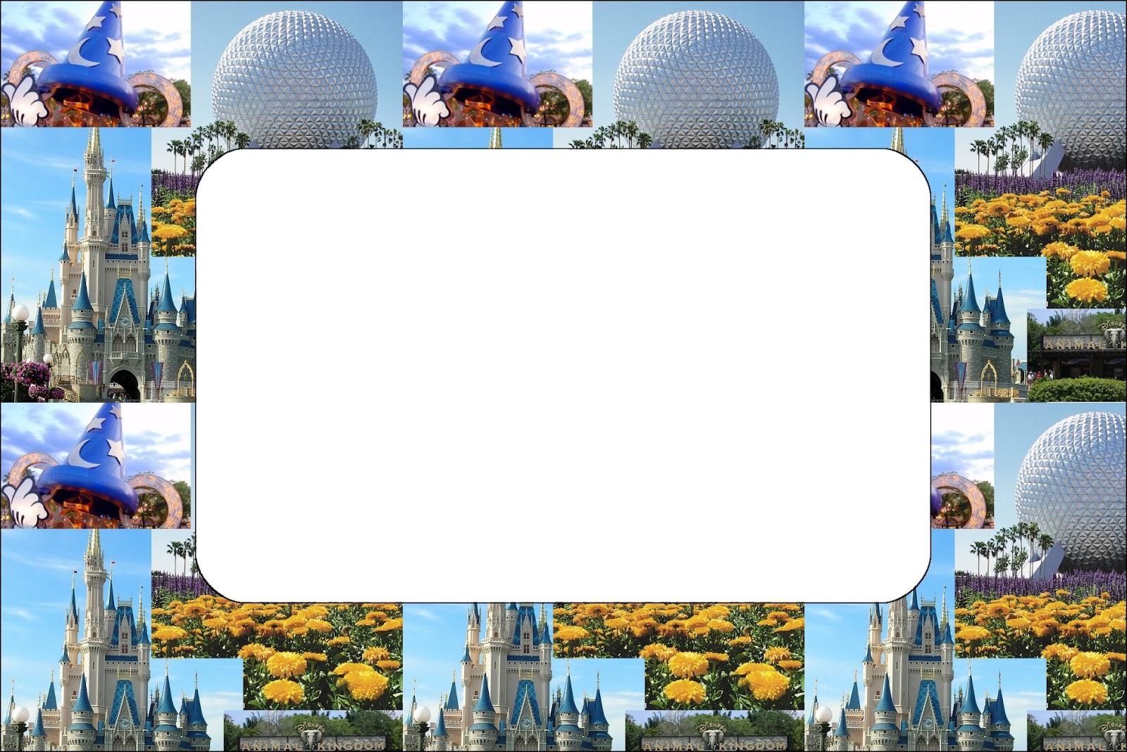 Walt Disney World Free Printable Invitations