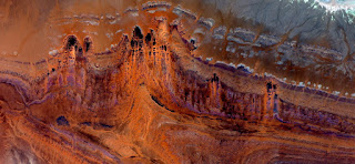 Mordor castle, abstract landscapes of deserts of Africa ,Abstract Naturalism,abstract photography deserts of Africa from the air,abstract surrealism,mirage in desert,,abstract expressionism, fantasy,