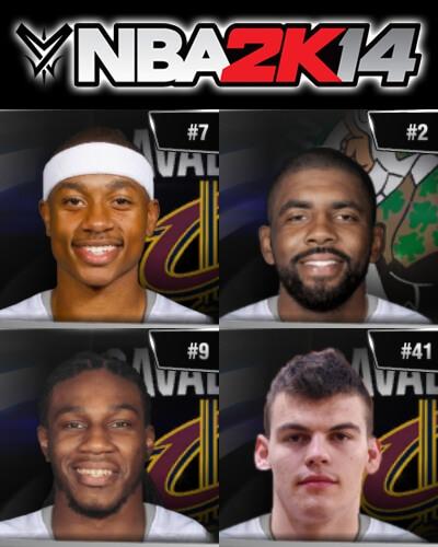 NBA 2k14 Roster update - August 23, 2017 - Trades - Kyrie Irving - Isaiah Thomas - HoopsVilla