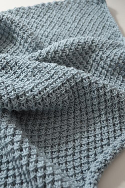 Soft Baby Blanket - Free Pattern