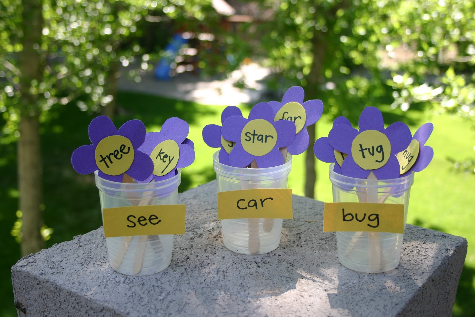 Puddle Wonderful Learning Elementary Activities Rhyming Flowers