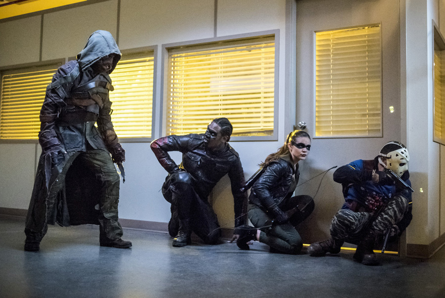 Nuevas incorporaciones del Team Arrow