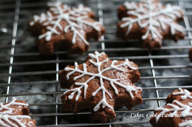Lebkuchen - Schneeflocken
