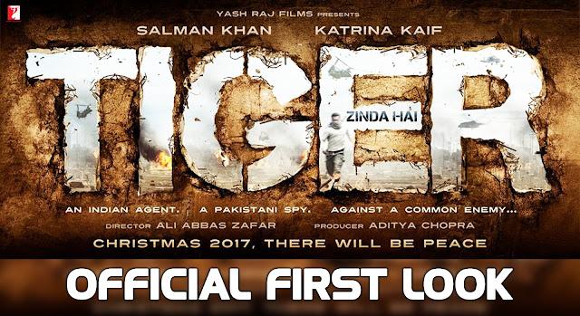 Salman Khan And Katrina Kaif's Tiger Zinda Hai First Look Is Out