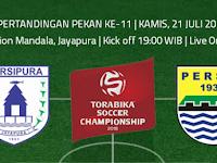 TSC 2016: Persipura vs Persib
