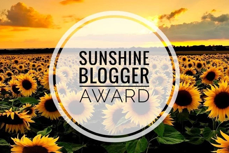 Sunshine Blogger Award and Questions