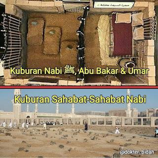 Kuburan Nabi ﷺ & Sahabat Nabi