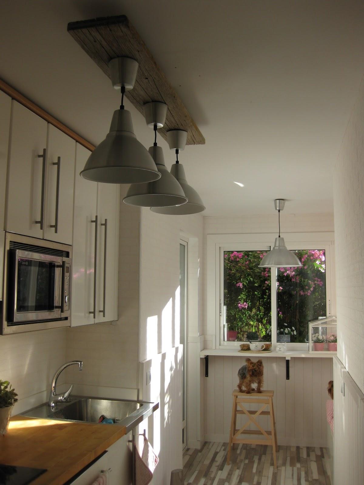 Tuki apple home diy una l mpara industrial lowcost - Lamparas de techo hechas en casa ...