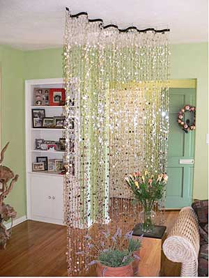 I Love These Capiz Shell Curtainshow About Making A Faux Curtains