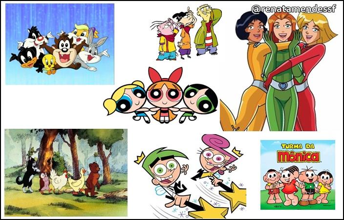 desenhos nostalgicos