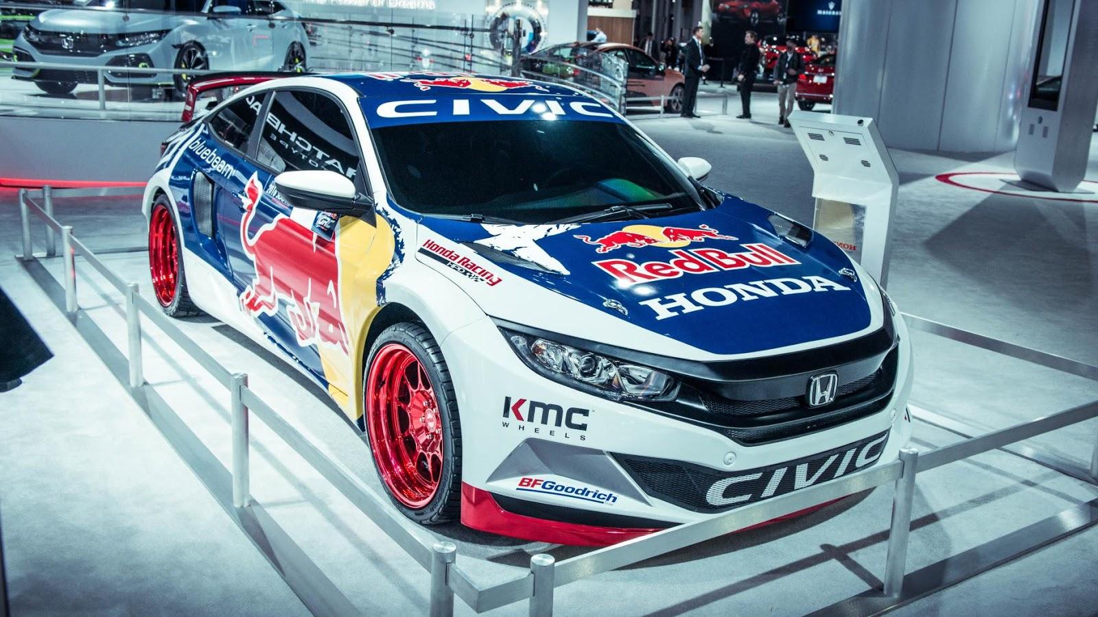 Honda Civic Rallycross