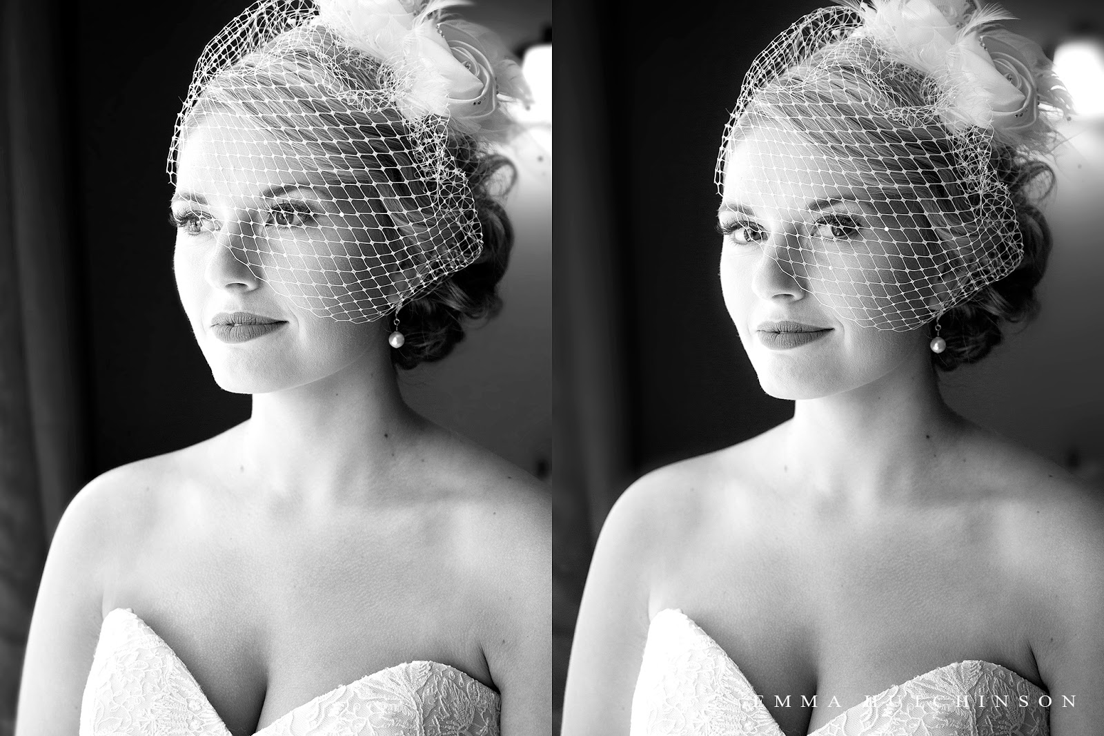 New-Wes-Valley Central Newfoundland Weddings - Bridal Portrait in window light