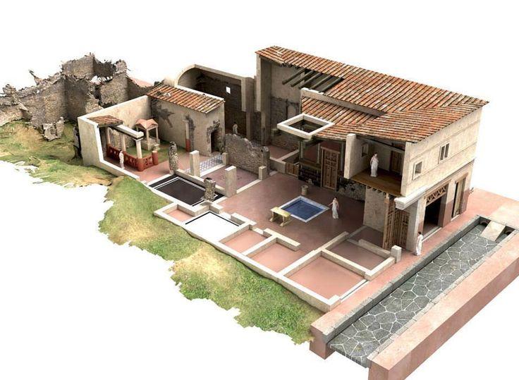 Andrew malone the roman domus as a caribbean urban for Casa design roma