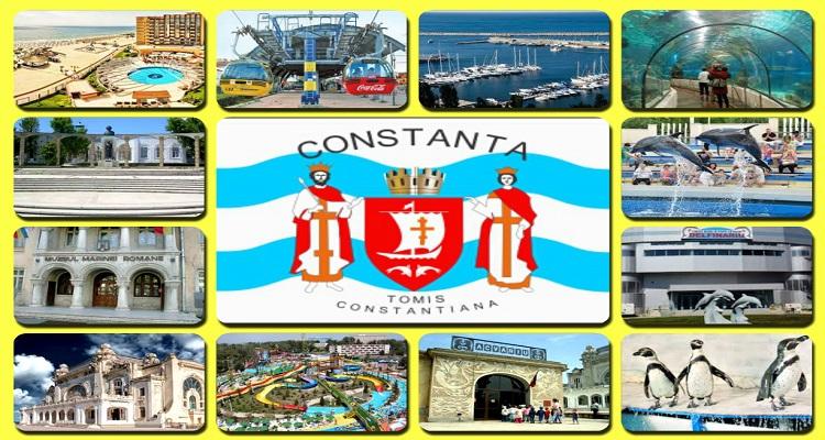 Orașul Constanța descriere și obiective turistice.