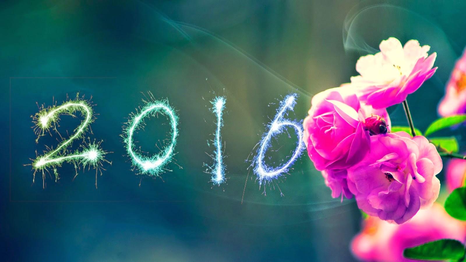 Gambar DP BBM Terbaru Selamat Tahun Baru Happy New Year 2016