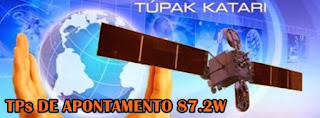 1494552813556820 - Tupac Katari 87,2W -Testando Equipamentos - Cobertura do Satélite - TP´s de Apontamento - 03/07/2017
