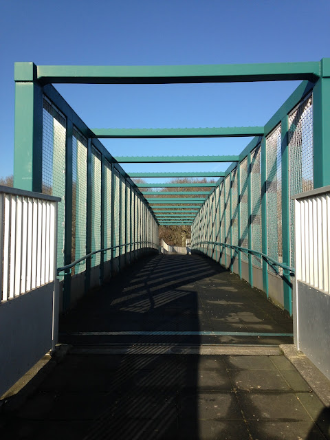 Footbridge over the M3, Hook, Hampshire