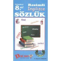 Dahi Adam 8. Sınıf Resimli İngilizce Sözlük