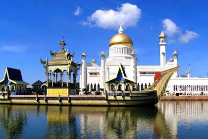 Negara Petro Dollar Julukan Brunei Darussalam, Artinya & Tempat Wisata