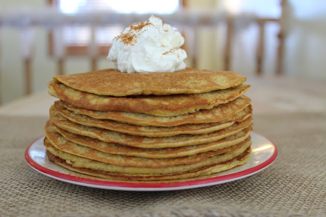Low Carb Sweet Cinnamon Pancakes