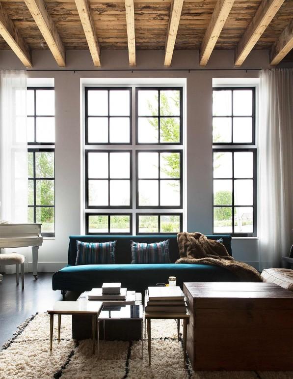 sofa de tercipoelo azul chicanddeco