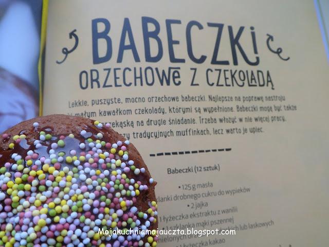 babeczki orzechowe z czekoladą