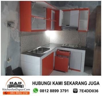 Jasa pembuatan kitchen set serpong hub 0812 8899 3791 for Harga pembuatan kitchen set per meter
