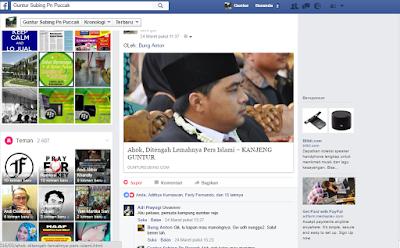 "Komentar-komentar di Facebook Atas Tulisan: ""Ahok, Ditengah Lemahnya Pers Islami"""