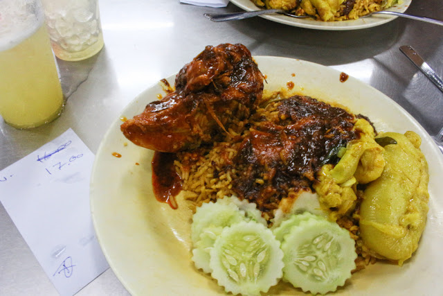 makan nasi kandar line clear penang