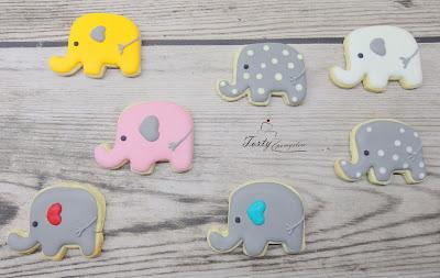 ciasteczka słonie