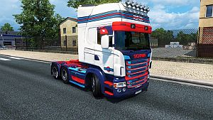 Martini Racing skin for Scania RJL by LazyMods