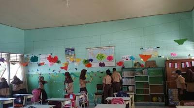 dekorasi ruang kelas yang unik terbaru