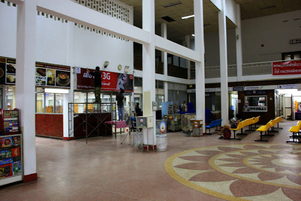 Vientiane - - Laos Wattay International Airport