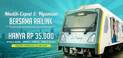 Promo Mudik 2016 dari RAILINK