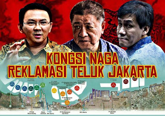 Kongsi Naga Di Balik Megaproyek Reklamasi Teluk Jakarta