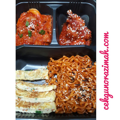 korean street food, korean spicy noodles, jjangmyeon, tteobokki, korean spicy chicken, makanan korea