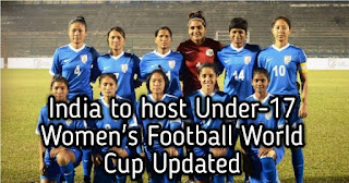 India to host Under-17 Women's Football World Cup Updated