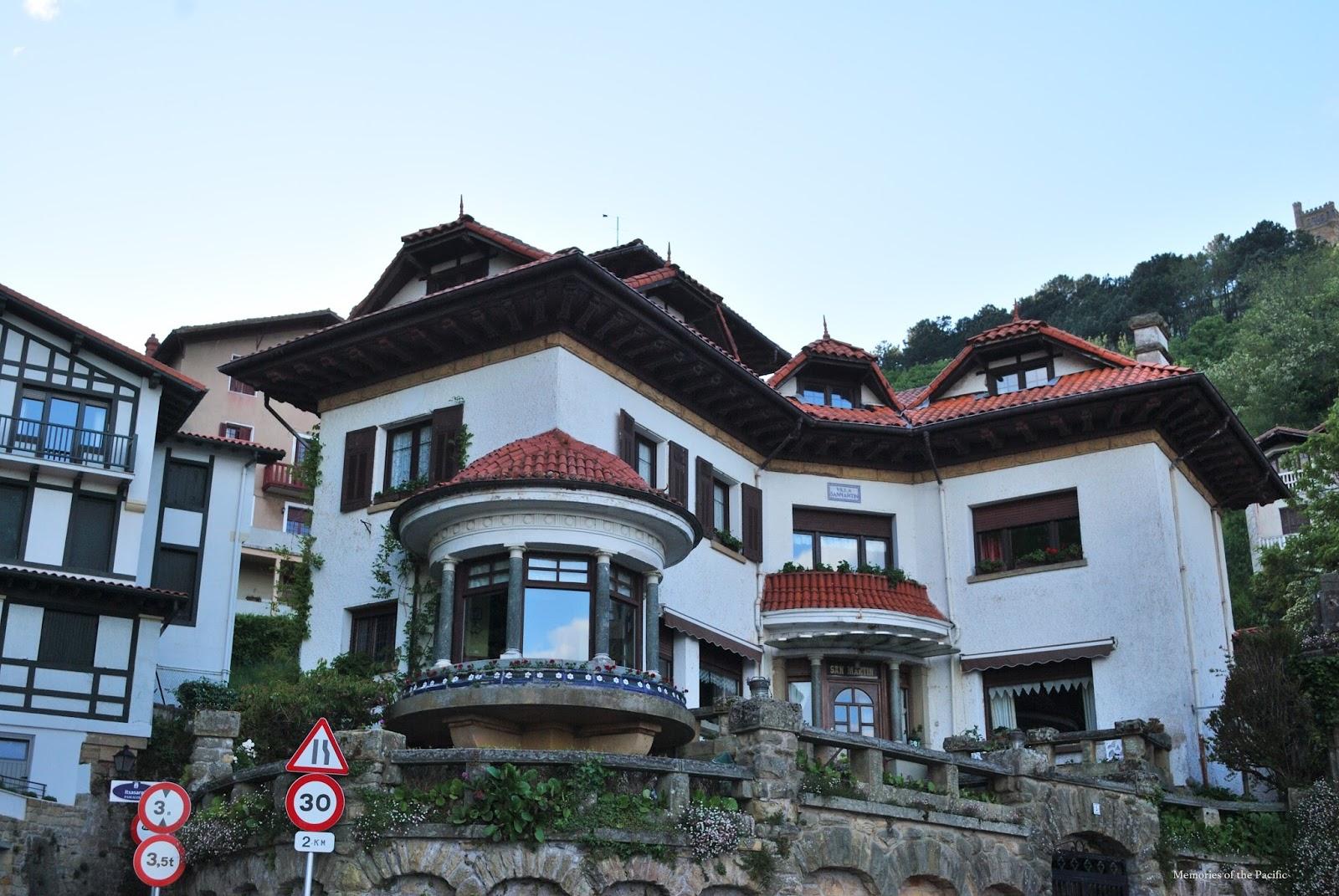 casa típica san sebastián