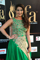Manjusha in Beautiful Sleeveless Green Anarkali dress at IIFA Utsavam Awards 01.JPG